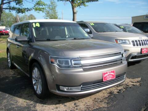 2014 Ford Flex for sale at Lloyds Auto Sales & SVC in Sanford ME