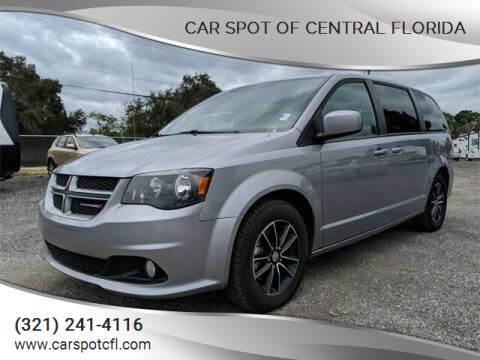 2018 Dodge Grand Caravan for sale at Car Spot Of Central Florida in Melbourne FL