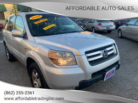 2007 Honda Pilot for sale at Affordable Auto Sales in Irvington NJ