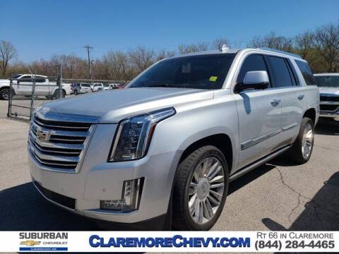 2015 Cadillac Escalade for sale at Suburban Chevrolet in Claremore OK