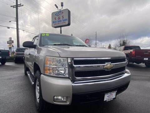 2008 Chevrolet Silverado 1500 for sale at S&S Best Auto Sales LLC in Auburn WA