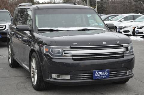 2015 Ford Flex for sale at Amati Auto Group in Hooksett NH