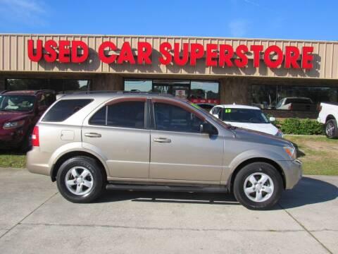 2008 Kia Sorento for sale at Checkered Flag Auto Sales NORTH in Lakeland FL