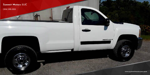 2007 Chevrolet Silverado 2500HD for sale at Summit Motors LLC in Morgantown WV