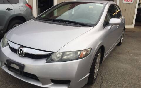2010 Honda Civic for sale at Bill's Auto Sales in Peabody MA