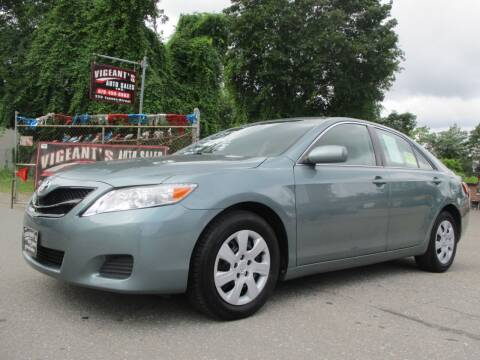 2010 Toyota Camry for sale at Vigeants Auto Sales Inc in Lowell MA
