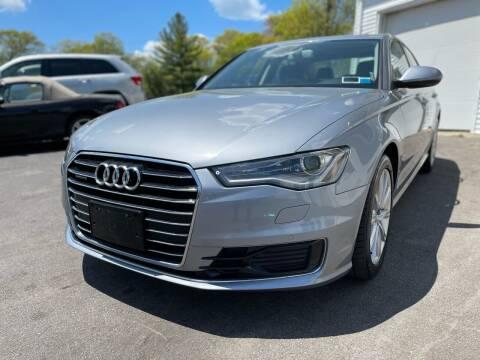 2016 Audi A6 for sale at SOUTH SHORE AUTO GALLERY, INC. in Abington MA