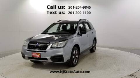 2017 Subaru Forester for sale at NJ State Auto Used Cars in Jersey City NJ