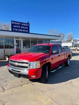 2011 Chevrolet Silverado 1500 for sale at Right Away Auto Sales in Colorado Springs CO
