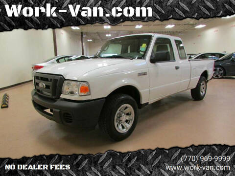 2011 Ford Ranger for sale at Work-Van.com in Union City GA