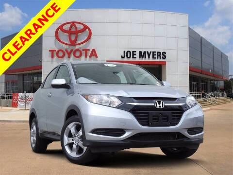 2018 Honda HR-V for sale at Joe Myers Toyota PreOwned in Houston TX