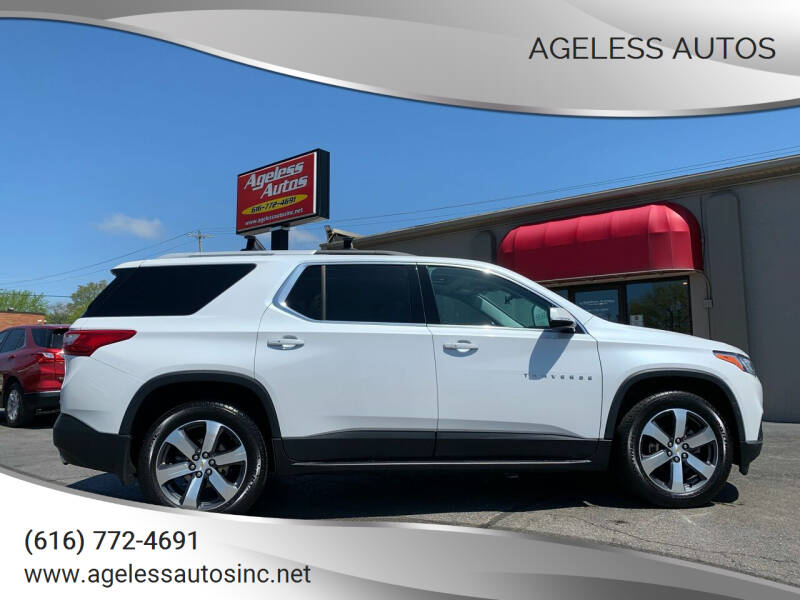 2018 Chevrolet Traverse for sale at Ageless Autos in Zeeland MI