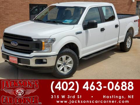 2018 Ford F-150 for sale at Jacksons Car Corner Inc in Hastings NE