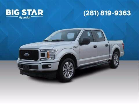 2018 Ford F-150 for sale at BIG STAR HYUNDAI in Houston TX