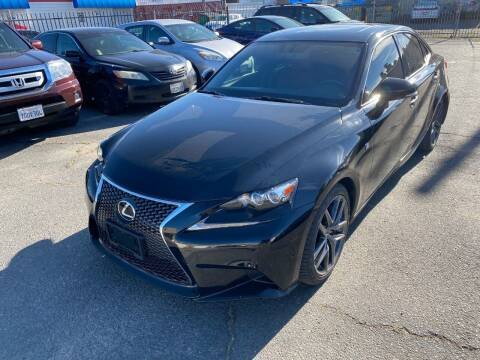 2015 Lexus IS 350 for sale at 101 Auto Sales in Sacramento CA