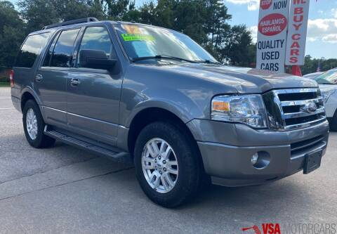 2012 Ford Expedition for sale at VSA MotorCars in Cypress TX