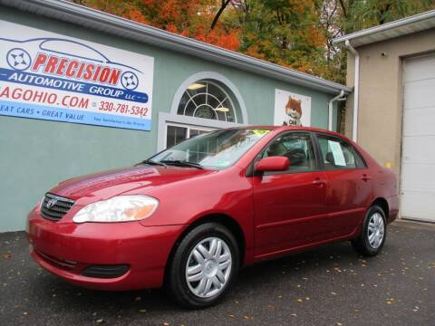 2006 Toyota Corolla for sale at Precision Automotive Group in Youngstown OH