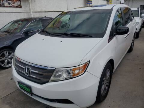 2012 Honda Odyssey for sale at Express Auto Sales in Los Angeles CA