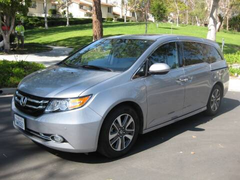 2016 Honda Odyssey for sale at E MOTORCARS in Fullerton CA