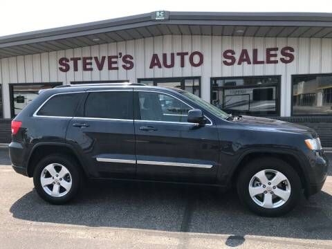2012 Jeep Grand Cherokee for sale at STEVE'S AUTO SALES INC in Scottsbluff NE