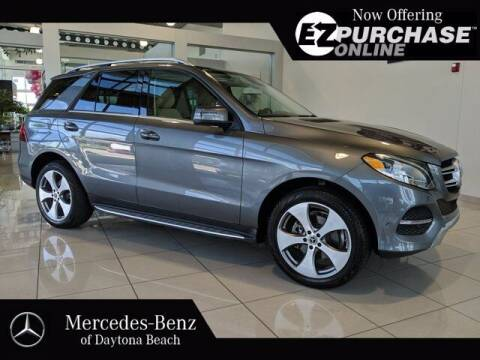 2017 Mercedes-Benz GLE for sale at Mercedes-Benz of Daytona Beach in Daytona Beach FL