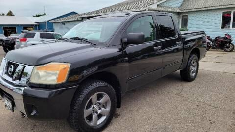 2008 Nissan Titan for sale at JR Auto in Brookings SD