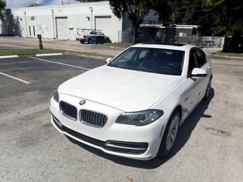 2014 BMW 5 Series for sale at Best Price Car Dealer in Hallandale Beach FL