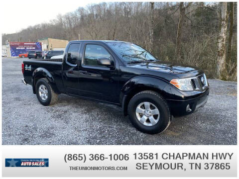 2012 Nissan Frontier for sale at Union Motors in Seymour TN
