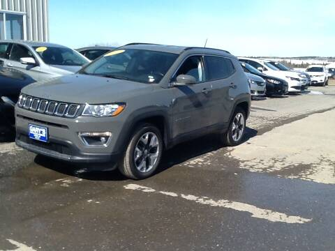 2019 Jeep Compass for sale at Garys Sales & SVC in Caribou ME