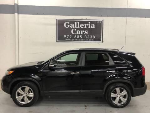 2013 Kia Sorento for sale at Galleria Cars in Dallas TX