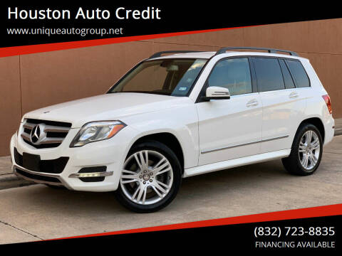 2015 Mercedes-Benz GLK for sale at Houston Auto Credit in Houston TX