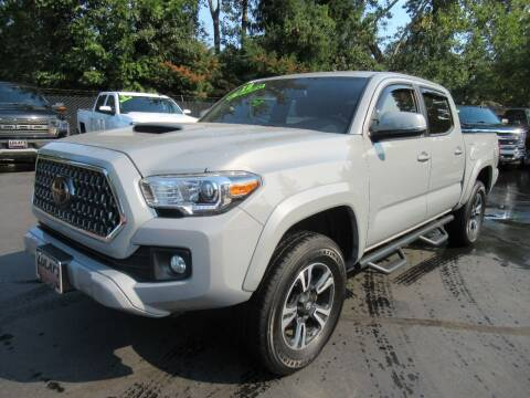 2018 Toyota Tacoma for sale at LULAY'S CAR CONNECTION in Salem OR