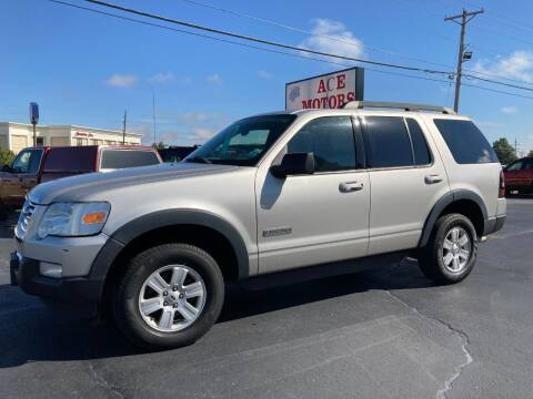 2007 Ford Explorer for sale at Ace Motors in Saint Charles MO