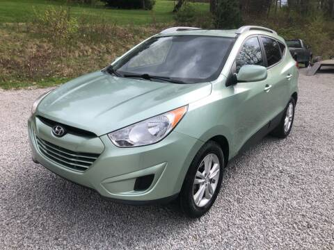 2011 Hyundai Tucson for sale at R.A. Auto Sales in East Liverpool OH