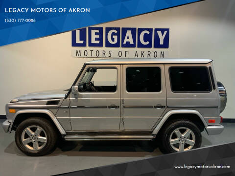 2008 Mercedes-Benz G-Class for sale at LEGACY MOTORS OF AKRON in Akron OH