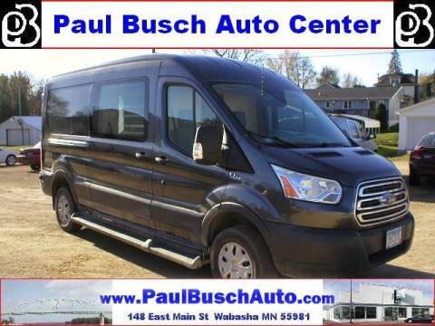 2017 Ford Transit Cargo for sale at Paul Busch Auto Center Inc in Wabasha MN
