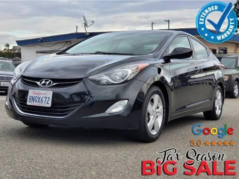 2013 Hyundai Elantra for sale at Gold Coast Motors in Lemon Grove CA