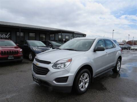 2016 Chevrolet Equinox for sale at Central Auto in South Salt Lake UT
