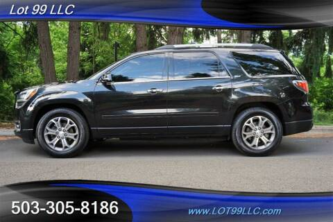 2014 GMC Acadia for sale at LOT 99 LLC in Milwaukie OR