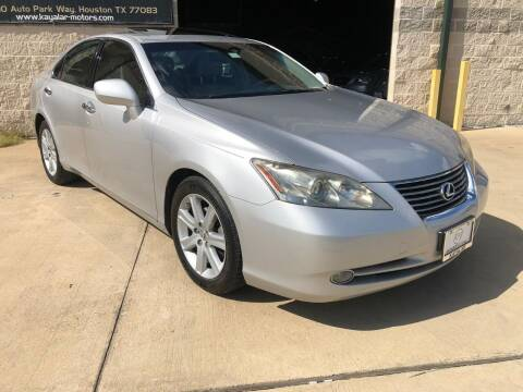 2007 Lexus ES 350 for sale at KAYALAR MOTORS - ECUFAST HOUSTON in Houston TX