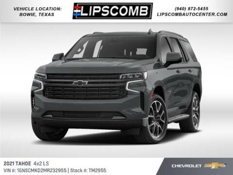 2021 Chevrolet Tahoe for sale at Lipscomb Auto Center in Bowie TX