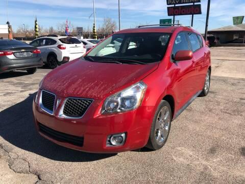 2009 Pontiac Vibe for sale at Ital Auto in Oklahoma City OK