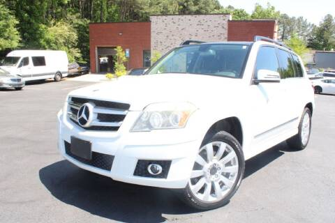 2010 Mercedes-Benz GLK for sale at Atlanta Unique Auto Sales in Norcross GA