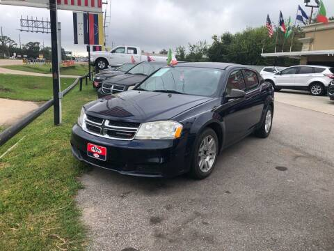 2014 Dodge Avenger for sale at FREDY CARS FOR LESS in Houston TX