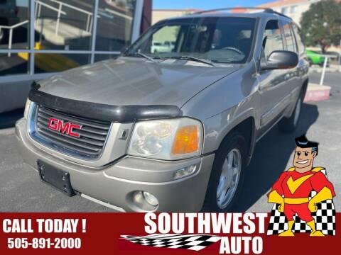 2002 GMC Envoy for sale at SOUTHWEST AUTO in Albuquerque NM