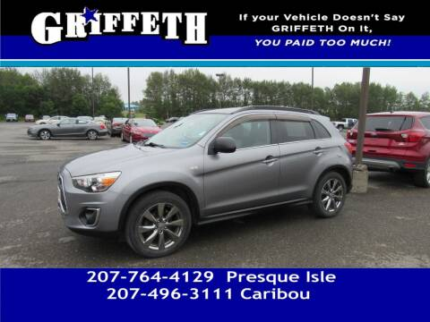 2013 Mitsubishi Outlander Sport for sale at Griffeth Mitsubishi - Pre-owned in Caribou ME