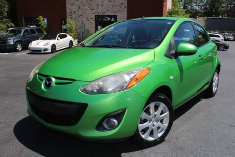 2012 Mazda MAZDA2 for sale at Atlanta Unique Auto Sales in Norcross GA