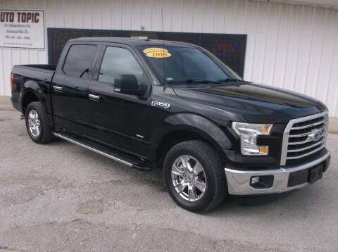 2016 Ford F-150 for sale at AUTO TOPIC in Gainesville TX