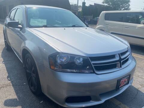 2014 Dodge Avenger for sale at Zs Auto Sales in Kenosha WI