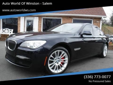 Bmw 7 Series For Sale In Winston Salem Nc Auto World Of Winston Salem